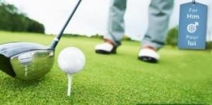 V-day Golf Promotion