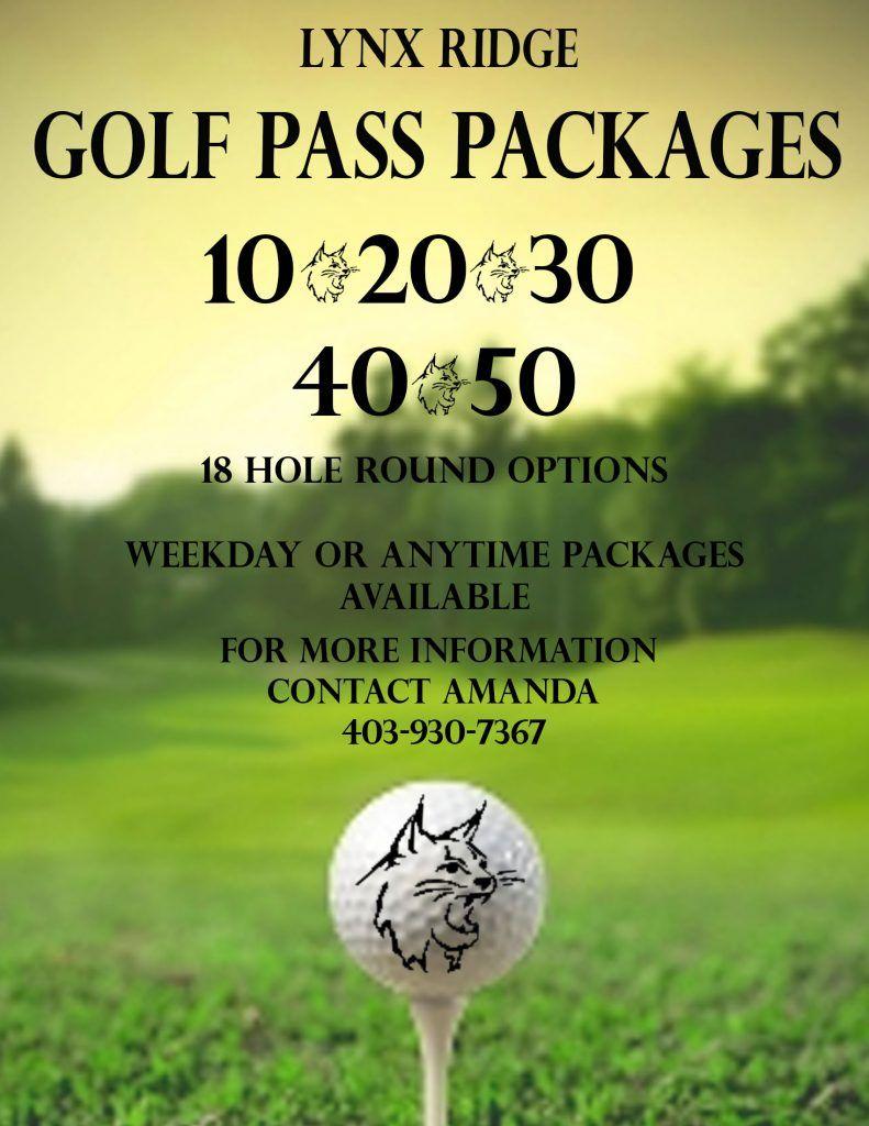 Lynx Ridge Public Pass Packages