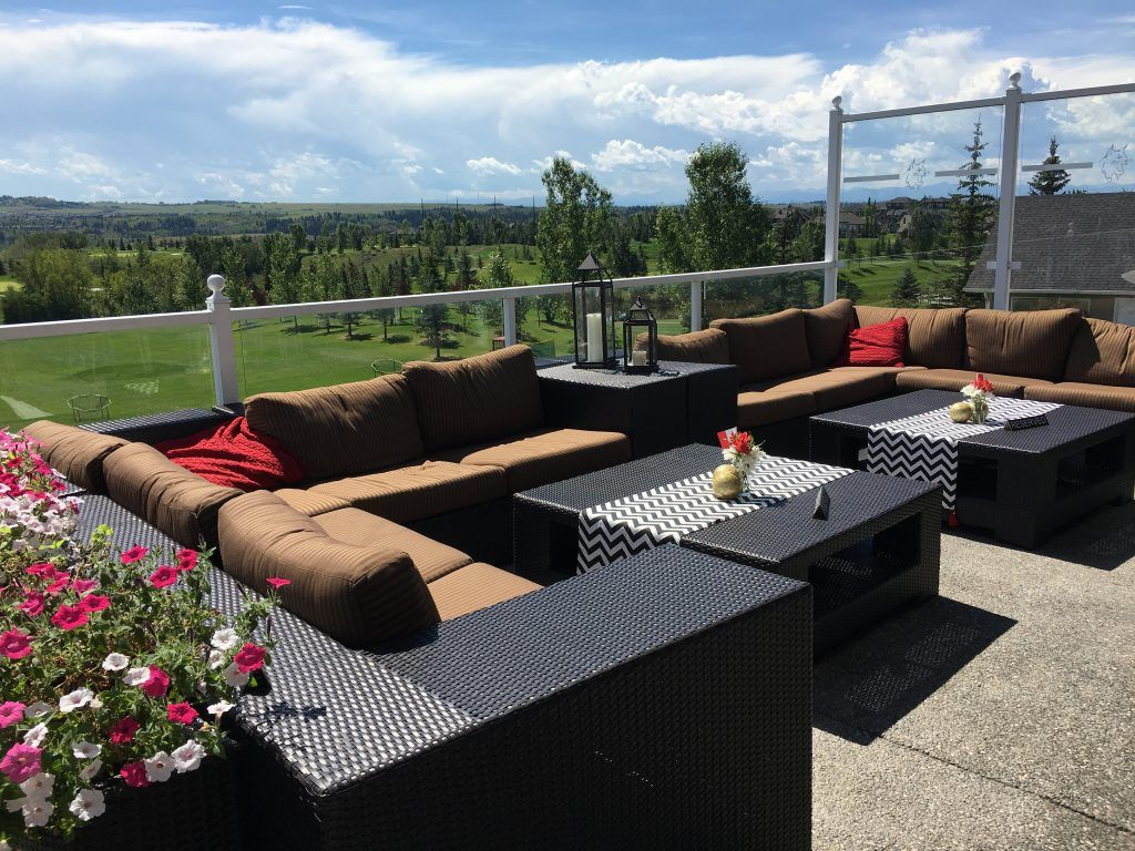 The Patio View at Lynx Ridge Golf Club