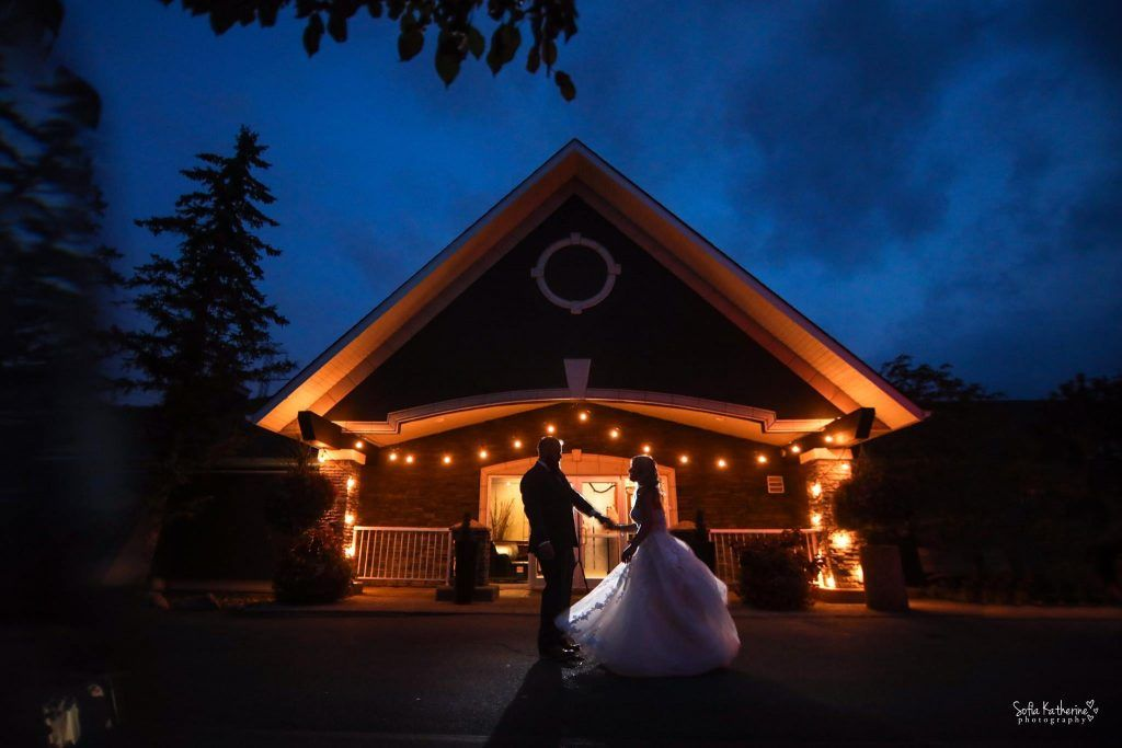 Lynx Ridge Wedding - Front Entrance